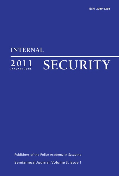 Praca zbiorowa - Internal Security, January-June 2011