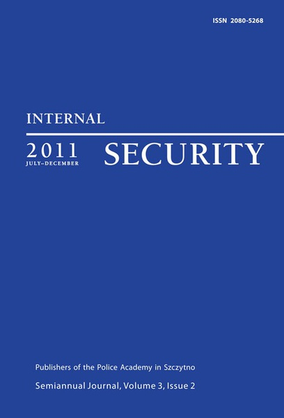 Praca zbiorowa - Internal Security, July-December 2011